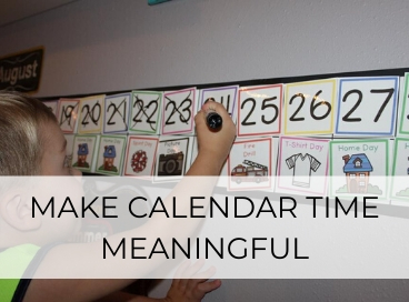 CALENDAR TIME IN FAMILY CHILD CARE