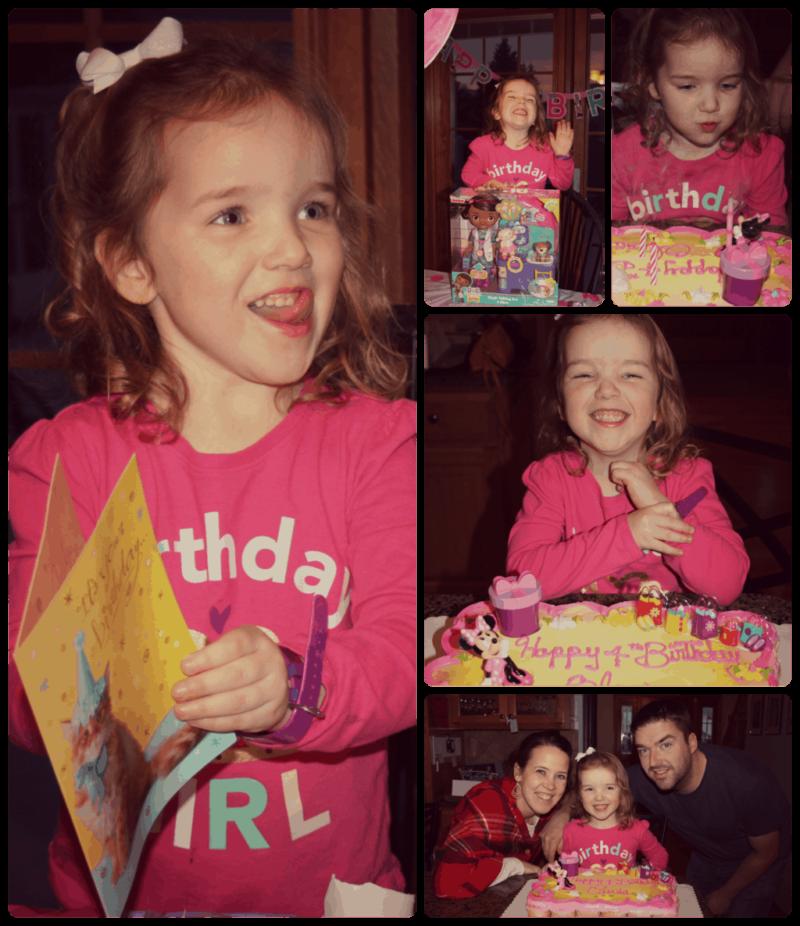 young girl birthday celebration