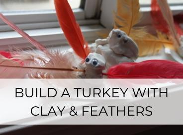 THANKSGIVING KEEPSAKE CLAY TURKEY