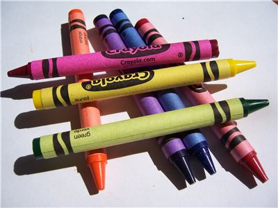 coloring crayons for printable coloring pages