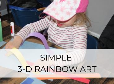 3D RAINBOW ART