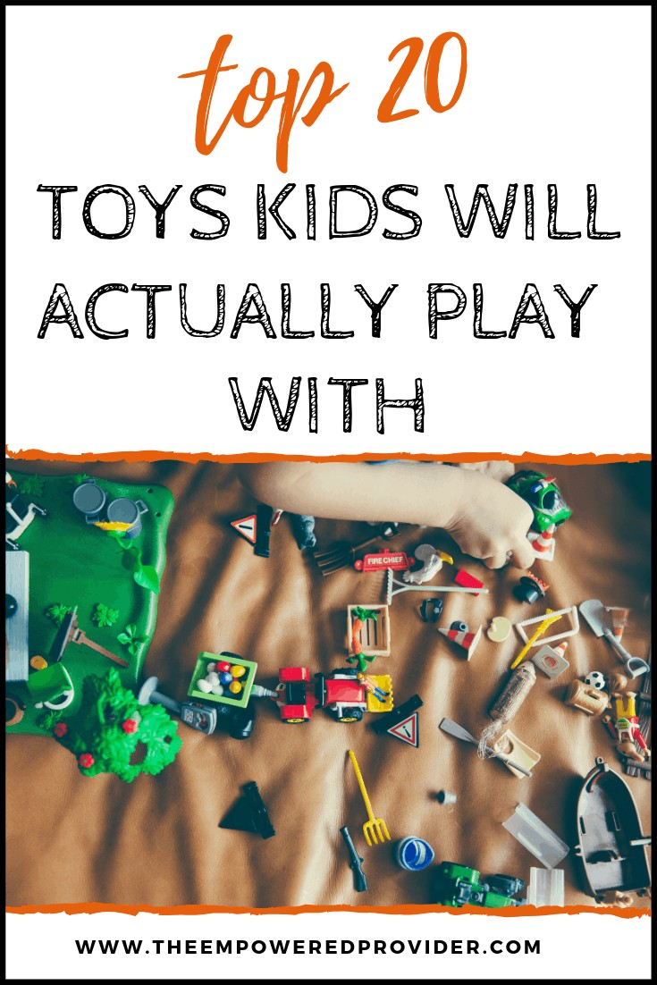 most played with toys