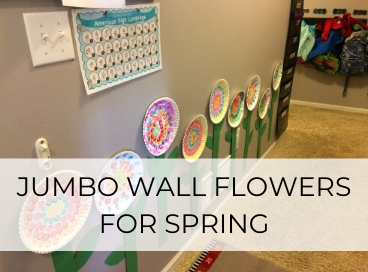 JUMBO WALL FLOWER CRAFT