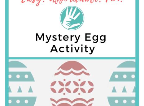 mystery egg activity