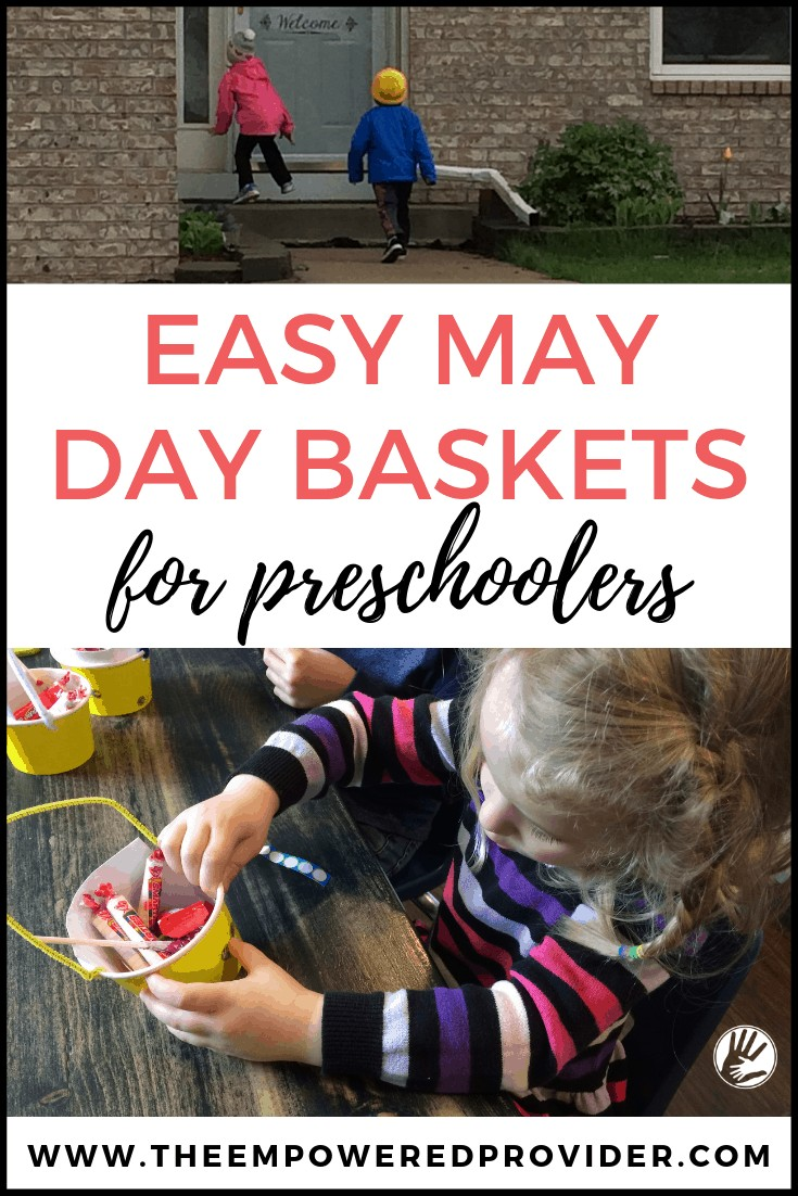 May Day basket idea