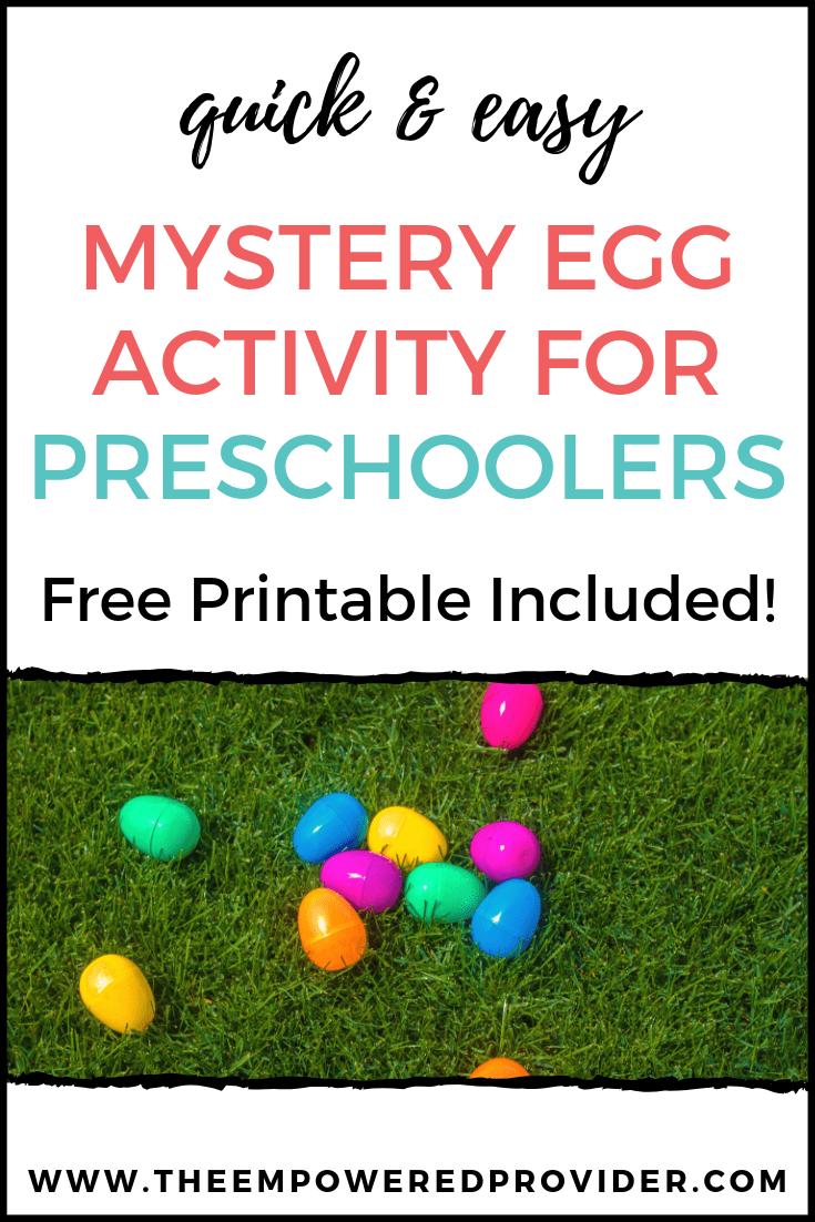 plastic eggs in grass