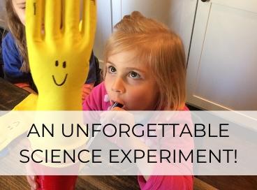 easy science experiment for preschoolers