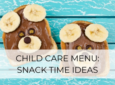 daycare snack ideas