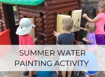 SUMMER WATER PAINTING ACTIVITY