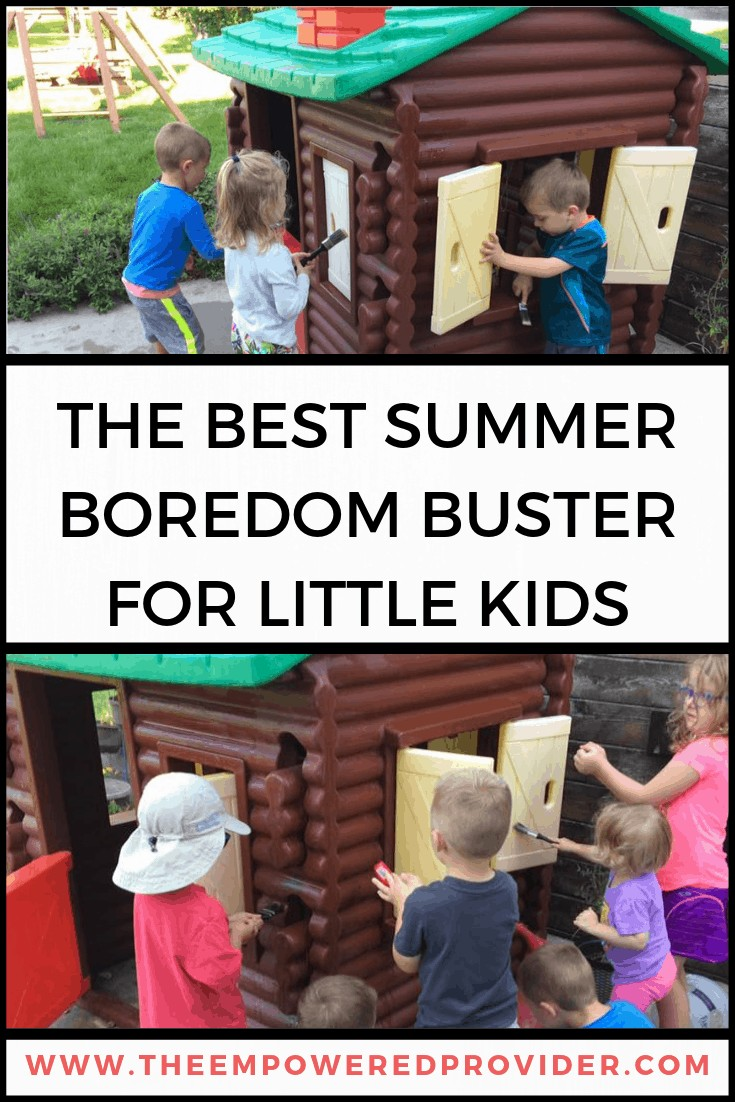 outdoor summertime activity for toddlers and preschoolers