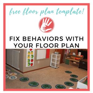 fix behaviors with your floor plan image