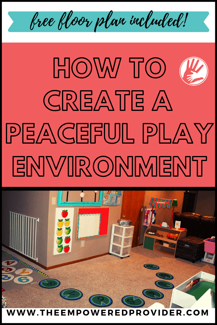 ideal child care play space