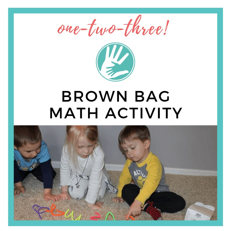 hands on math activities for preschoolers with boy and girl counting