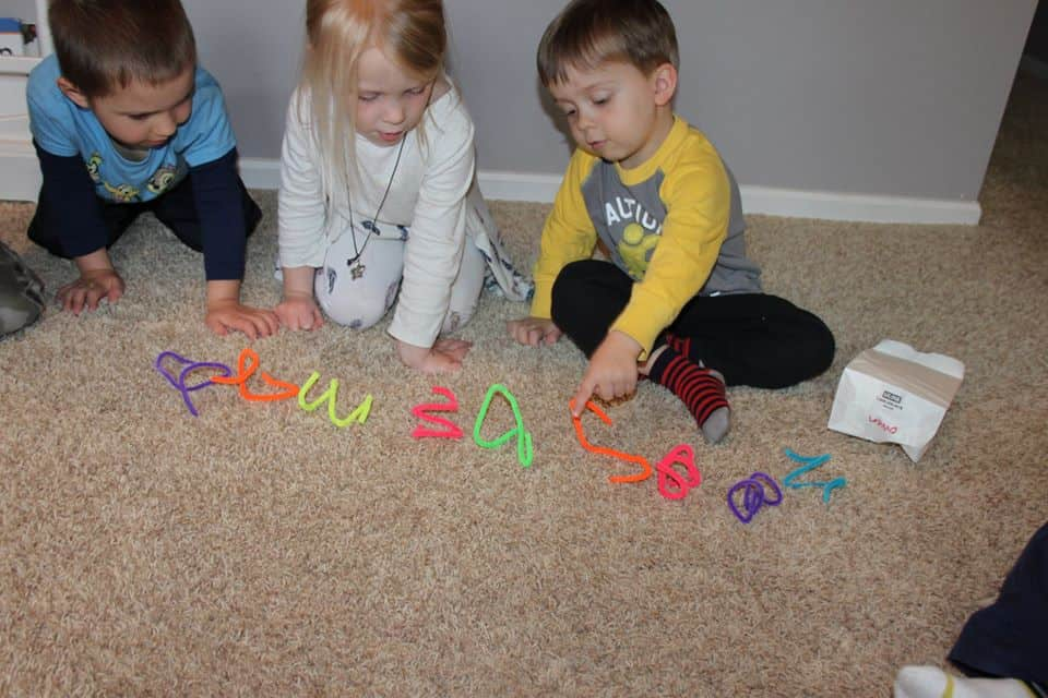 hands on math activities for preschoolers young kids counting items from a bag