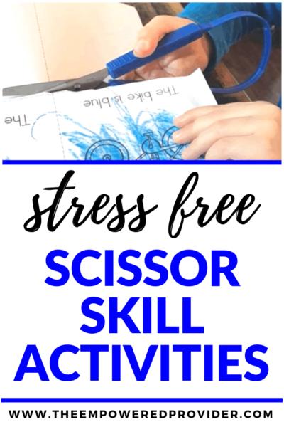 scissor skills development