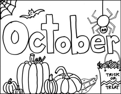 Printable Monthly Coloring Pages - The Empowered Provider