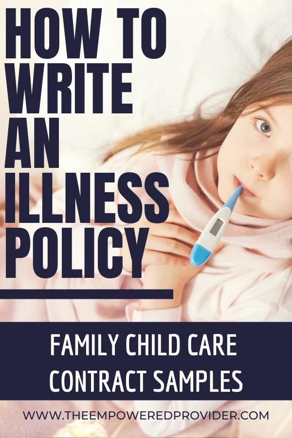 ill child policy