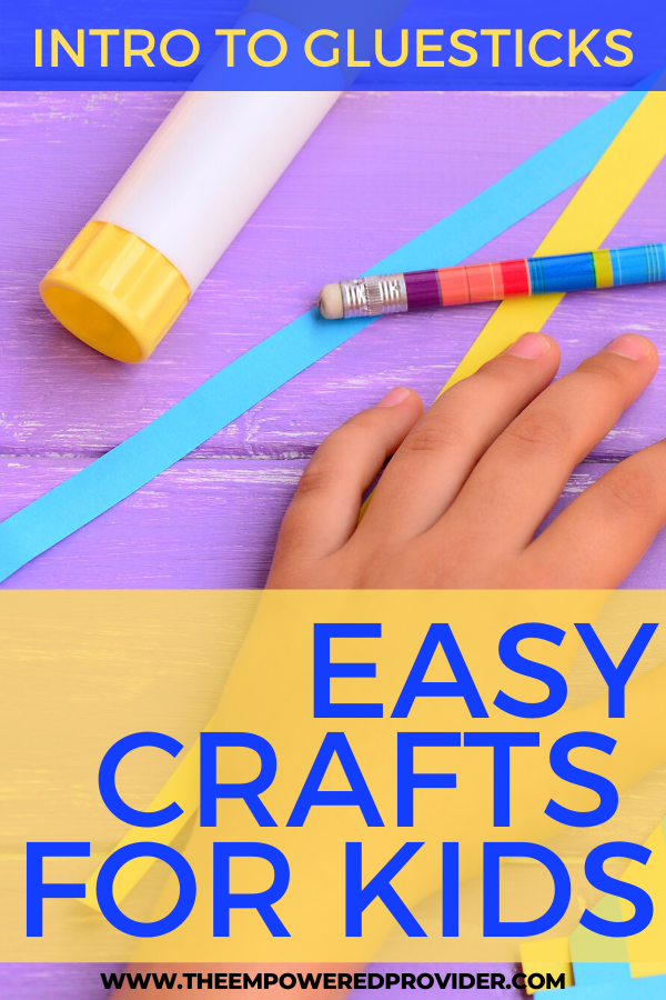 preschool glue stick activities