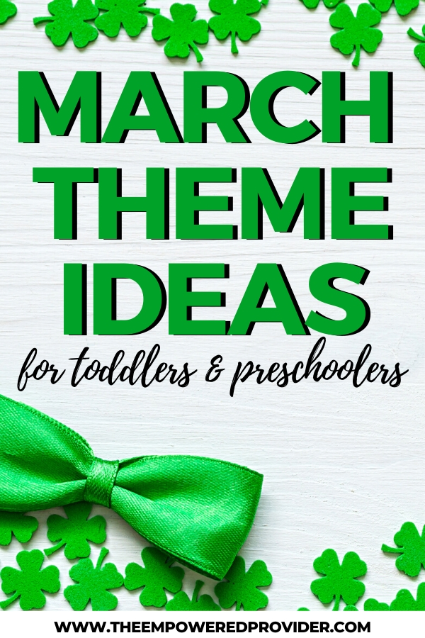 march theme ideas for preschool
