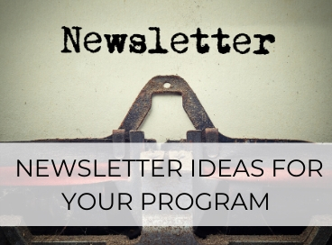 CHILD CARE NEWSLETTER IDEAS